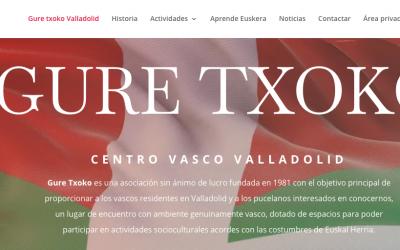 Nueva Página web Gure Txoko Valladolid
